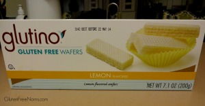 Glutino lemon wafers